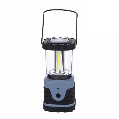 10T HPL 500 - Lampe de camping avec 500 lumens, 4 COB LED, 12W (4x3 W), 87x87x185 mm, 418g