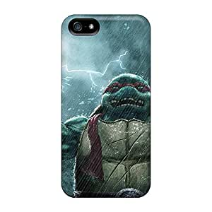 ColtonMorrill Iphone 5/5s Shock Absorption Hard Cell-phone Cases Support Personal Customs High-definition Teenage Mutant Ninja Turtles Pictures [WAz17237otjA]