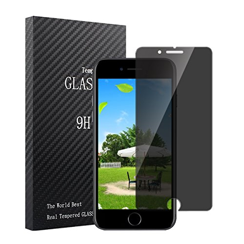 Pacyer Apple iPhone 6 / 6S / 7/8 Screen Protector, Privacy Anti-Glare Bubble Free 2.5D Edge HD Film Anti-Scratch,Case Friendly Tempered Glass For Apple 6 6S 7 8 (4.7