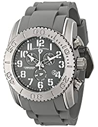Swiss Legend Men's 11876-TI-014 Commander Analog Display Swiss Quartz Grey Watch
