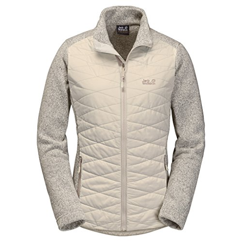 Jack Wolfskin CARIBOU CROSSING TRACK Chaqueta aislante Mujeres light sand