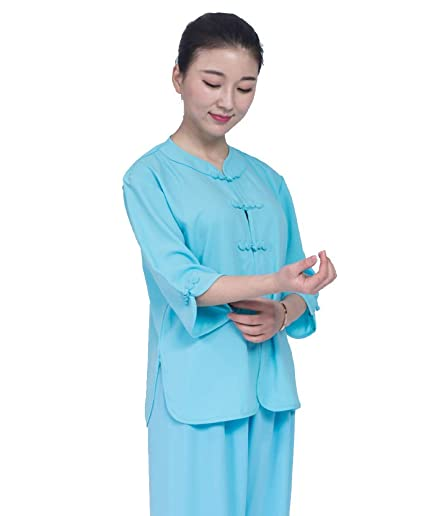 Amazon com : AMhuui Tai chi Woman Men's Suit, Shaolin kung