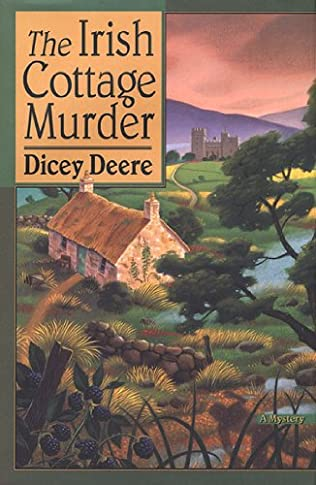 book cover of The Irish Cottage Murder