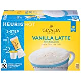 Gevalia Vanilla Latte K-Cup Packs and Froth Packets – 36 count (6 Packs of 6) For Sale