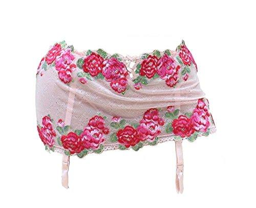 Victorias Secret Floral Embroidered Skirterd