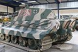 German Tank Tiger II Kingtiger (WW II) at the Mus??e des Blind??s in Saumur (France)