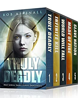 Truly Deadly: The Complete Series: (YA Spy Thriller Books 1-5) by [Aspinall, Rob]