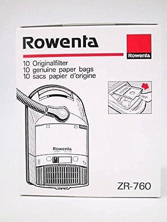 Rowenta - Bolsita de bolsas Rowenta Swing - zr76,0: Amazon ...