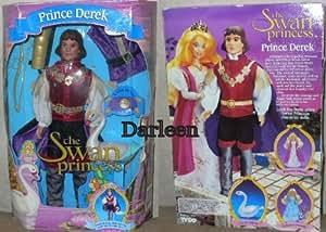 Amazon Com Prince Derek Doll From The Swan Princess 1994