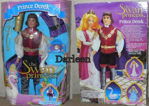 om The Swan Princess 1994 Tyco (Odette Ring)