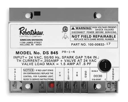 (Robertshaw DSI Mod, Ignition Control, 1 Trial, 24 V)