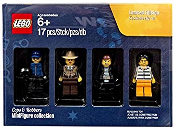 "LEGO Cops & Robbers Minifigure Collection Exclusive Toys ""R"" Us Bricktober ..."