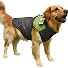 PAWZ Road Pet Clothes For Small Medium And Large Dogs Winter Warm Vest Jacket Easy On/Off Blue 3L