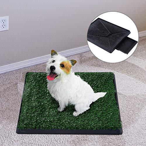 Sailnovo Inodoro para Mascotas Perro Césped Interior Orinal Perro Almohadilla de Entrenamiento de Hierba para Animal Doméstico(63 x 50 x 7 cm): Amazon.es: ...