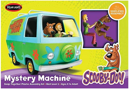 Round 2, LLC. Polar Lights 1/25 Scooby-Doo Mystery Machine, Snap NT