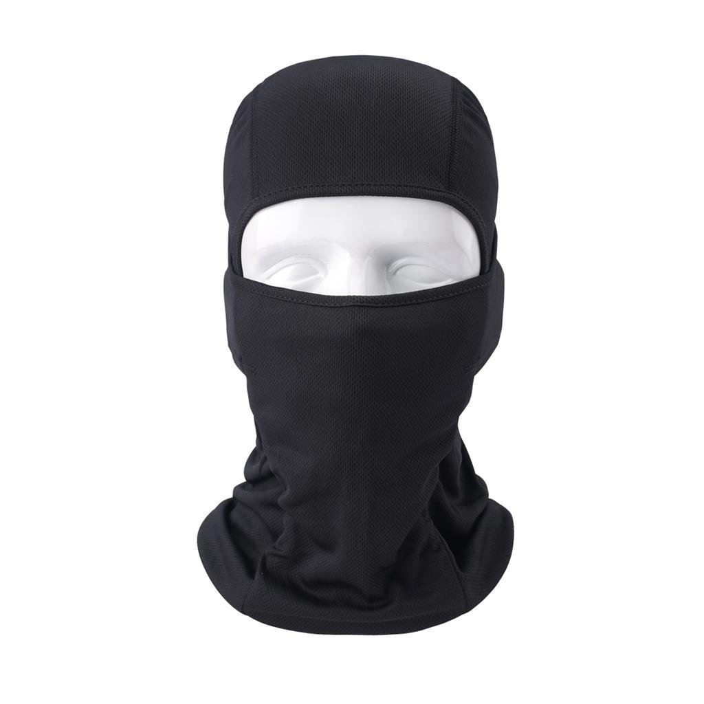 Super Stretchy Breathable Sports Mask for Outdoor Skiing Cycling Motorcycling Helmet Hiking Camping Neck Warmer VERTAST Balaclava Face Mask Black