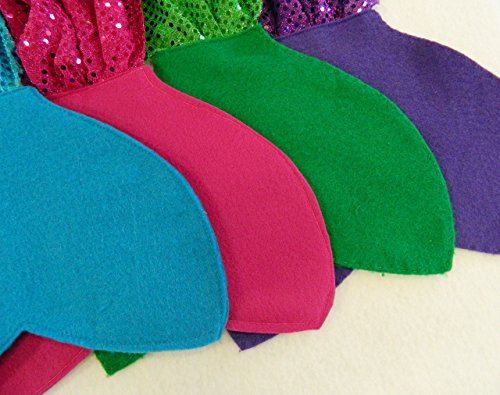 Mermaid Tail Costume Party Favors (Party Pack) Multi Colors Ages -
