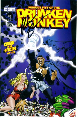 Furious Fist of the Drunken Monkey #1 : Origin of the Species Part 1 (Silent Devil Comics)