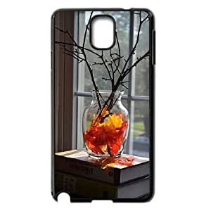 DIY Cover Case with Hard Shell Protection for Samsung Galaxy Note 3 N9000 case with The falling leaves lxa#967888