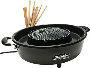 TomYang - Parrilla BBQ eléctrica Thai - Barbacoa y Hot Pot