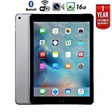 Apple iPad Air 2 16GB Wifi with 1 Year Extended WARRANTY – (Renewed)