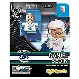 OYO HKYVANDS2 Limited Edition Mini Figure Vancouver Canucks Daniel Sedin, Black, Small