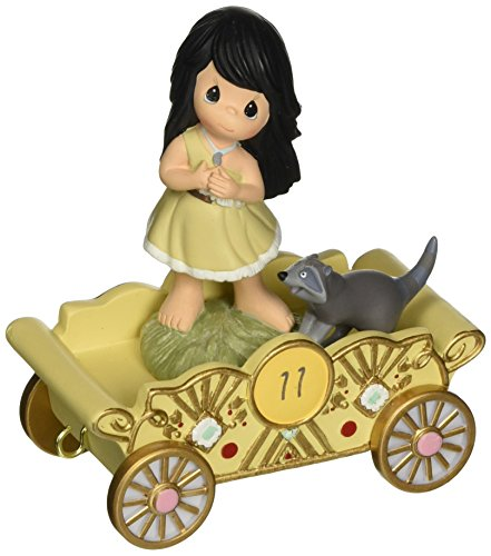 Precious Moments, Disney Showcase Collection,  Listen to Your Heart, Disney Birthday Parade, Age 11, Resin Figurine, 133405
