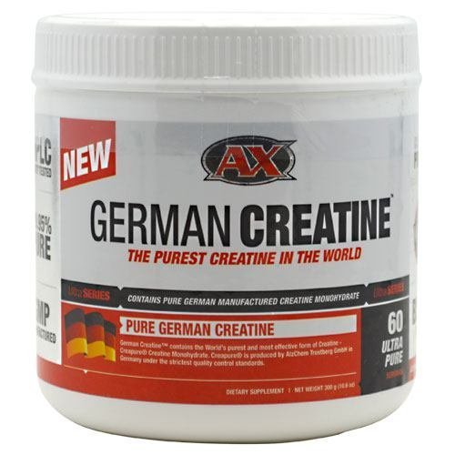 German Creatine (300g Creapure, the Purest Creatine Monohydrate Available) - 60 Servings
