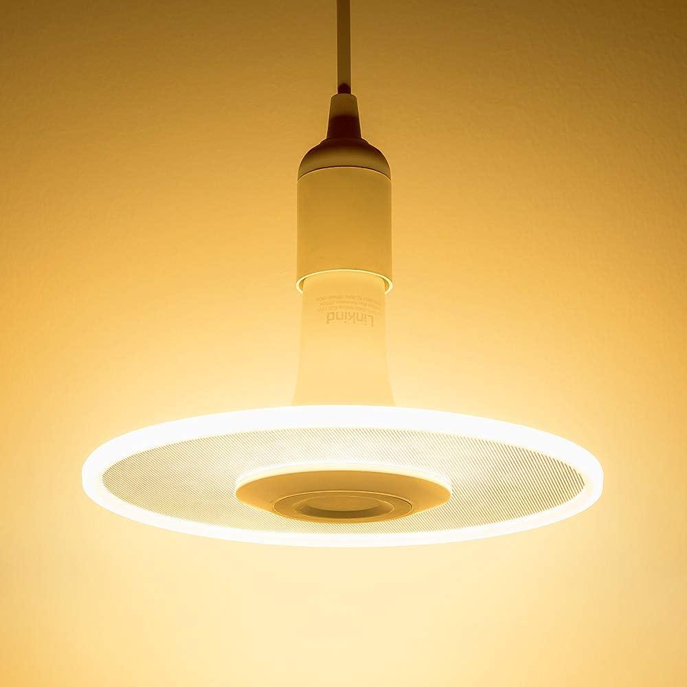 Nebula LED Lamp, Ceiling Pendant Light, Linkind E26 Hanging Lighting, 11W 1100lm 2700K Warm White Chandelier Bulb for Kitchen, Dining Room, Living Room, Bed Room Light Socket not Included