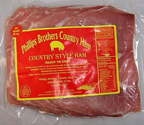 North Carolina Country Ham Biscuit Cuts 1 Lb Pkg (Country Ham Slices)