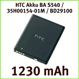 HTC BA S540 1230 mAh Battery for Wildfire S