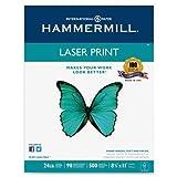 Hammermill - Laser Print Paper, 26lb, 98 Bright, 8.5 x 11'' - Reams 10