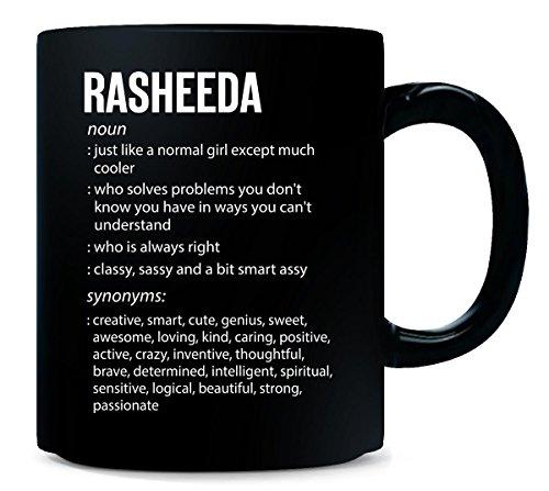Rasheeda Name Meaning Xmas Birthday Gift - Mug