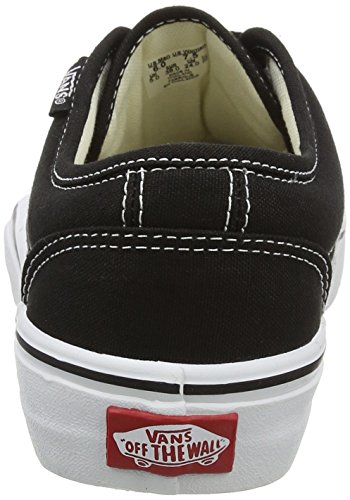 Vans Vulcanized - Zapatillas, unisex Negro (Black/White)