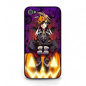 Unusual Kingdom Hearts Sora Phone Case Cover for Iphone 4/4s Kingdom Hearts Sora Fashionable