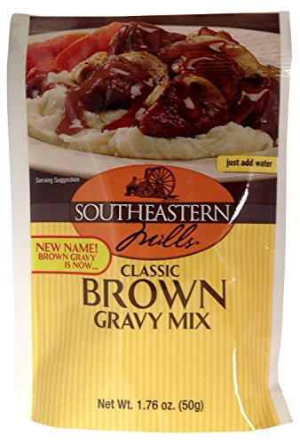 Southeastern Mills Brown Gravy Mix, 1.76-Ounce  (Pack of 24)