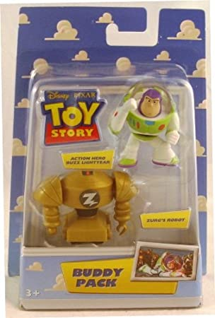 Disney/Pixar Toy Story Buddy Pack Action Hero Buzz Lightyear and ...