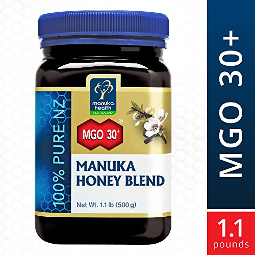 Manuka Health - MGO 30+ Manuka Honey Blend, 100% Pure New Zealand Honey, 1.1 lbs (500 g)