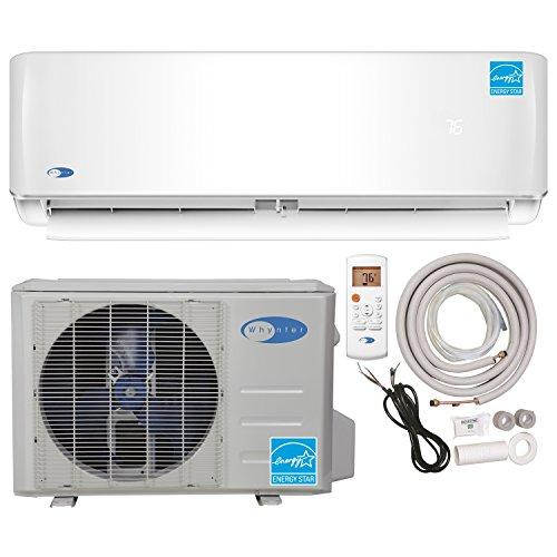 Whynter Energy Star Mini Split Inverter conducto de Sistema de acondicionador de Aire y Bomba de Calor Juego Completo Seer...