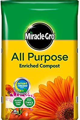 Scotts Miracle-Gro All Purpose - Compostador para flores, 50 l ...
