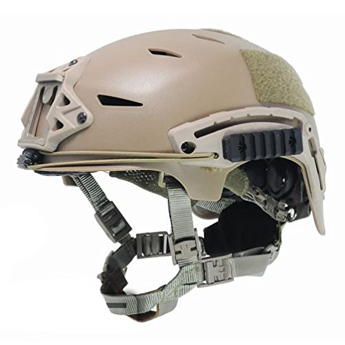 AIRSOFT BUMP TYPE HELMET TAN SAND DE ABS MARSOC USSF OPS CORE by FMA