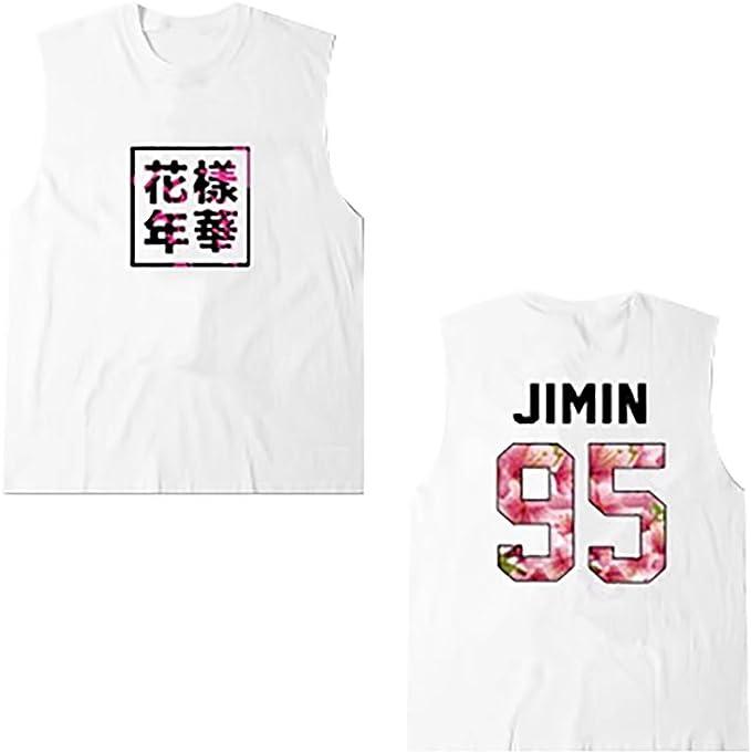 JHion KPOP BTS Mood For Love, Camiseta sin Mangas, Tirantes ...