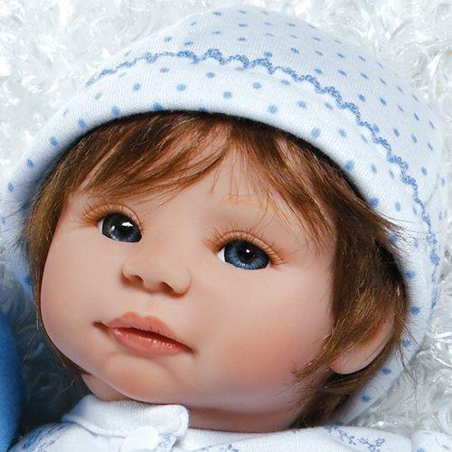 "LifeLike Baby Dolls, A Little Sheepish Ensemble, 16"" Baby Doll by Jorja Pigott"