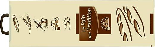 Bolsa para Pan Impresa de Plástico con Asas (Barras y ...