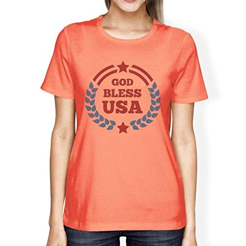 de para corta mujer talla Printing Camiseta manga 365 de qgawgp