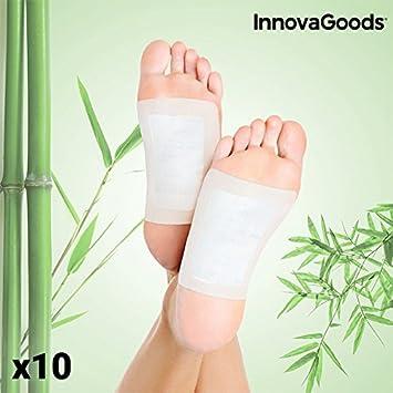 InnovaGoods IG814977 - Parches Desintoxicantes para pies (Pack de ...