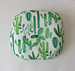 Lounger Cover - Watercolor Cactus