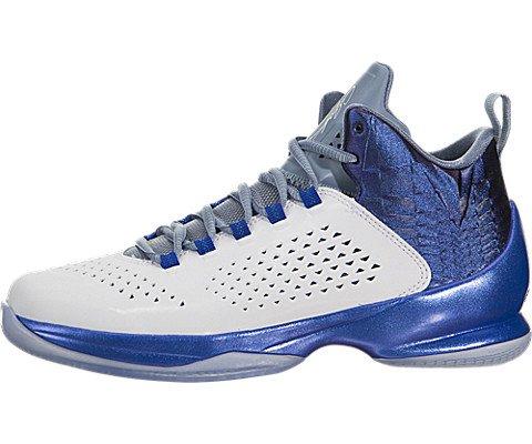 Nike Jordan Kids Jordan Melo M11 BG White/White/Game - Kids Melo Shoes