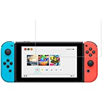 """Screen Guard Compatible with Nintendo Switch Lite 5.5"""", Mocoll Screen Protector 0.33mm Tempered Glass HD Clear Anti-Fingerprint & Anti-Bubble"""