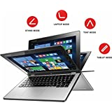 Lenovo Yoga 3 2 In 1 116 FHD IPS Premium High Performance Touch Screen Laptop Intel M 5Y71 Up To 290 GHz 8GB RAM 180GB SSD Bluetooth Webcam Win 81